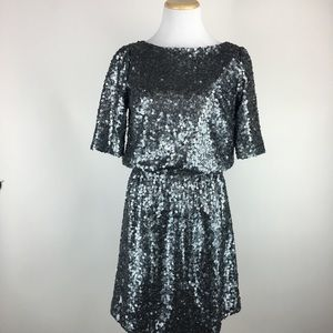 Madewell Broadway & Broome sequined dress Sz 2